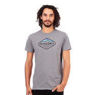 Patagonia - Fitz Roy Crest Cotton Poly T-Shirt