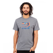 Patagonia - Framed Fitz Roy Cotton Poly Responsibili-Tee T-Shirt