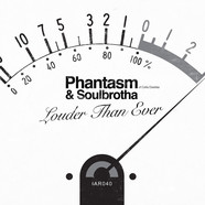 Phantasm (of Cella Dwellas) & Soulbrotha - Louder Than Ever / Louder Than Ever Brooklyn Remix Black Vinyl Edition