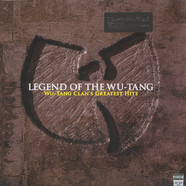Wu-Tang Clan - Legend Of The Wu-Tang - Wu-Tang Clan's Greatest Hits Black Vinyl Edition