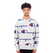Champion - Allover Reverse Weave Terry Crewneck Sweater