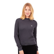 Fred Perry - Turtle Neck Boxy Sweater