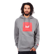 HUF x Chocolate - Box Logo Pullover Fleece Hoodie