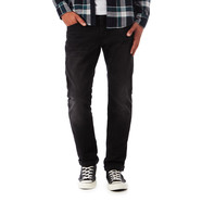 Edwin - ED-55 Regular Tapered Pants CS Ink Black Denim, 11oz