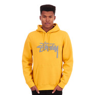Stüssy - Wool Stock Applique Hoodie