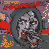 MF Doom - Operation: Doomsday Black & Red Vinyl Metal Face Cover Edition