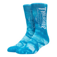 HUF x Thrasher - Tour De Stoops Crystal Wash Crew Socks