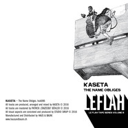 Kaseta - Le Flah Tape Series Volume 3: The Name Obliges