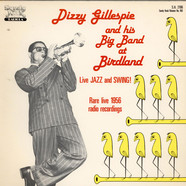Dizzy Gillespie - Dizzy Gillespie And His Big Band At Birdland - Rare Live 1956 Radio Recordings