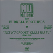 Burrell - The Nu Groove Years Part 1 1988-1992