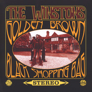 Winstons, The - Golden Brown / Black Shopping Bag