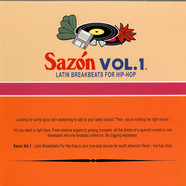 V.A. - Sazón Vol. 1: Latin Breakbeats For Hip-Hop