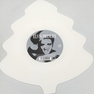 Elvis Presley - Blue Christmas White Tree Shaped Vinyl Edition