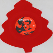 Elvis Presley - I'll Be Home For Chrsitmas Red Tree Shaped Vinyl Edition