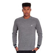 Fred Perry - Bomber Cuff Crewneck Sweater