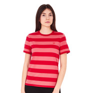 Fred Perry - Tonal Stripe Ringer T-Shirt