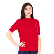 Fred Perry - Textured Shortsleeve Crewneck Jumper