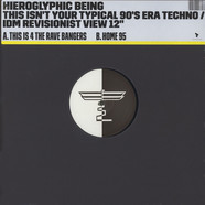 Hieroglyphic Being - This Isn't Your Typical 90's Era Techno / IDM...