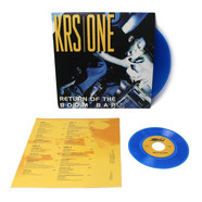 KRS-One - Return Of The Boom Bap Blue Vinyl Edition