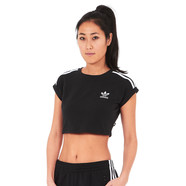 adidas - 3 Stripes Cropped Top