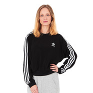adidas - 3 Stripes Crop Sweater