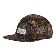 The Quiet Life - Liberty Paisley Coral 5-Panel Cap