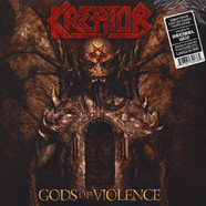 Kreator - Gods Of Violence Dark Red / Black Vinyl Edition