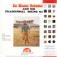 Sir Waziri Oshomah & His Traditional Sound Makers - Volume 3