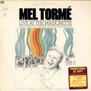 Mel Torme Featuring Al Porcino Big Band - Live At The Maisonette