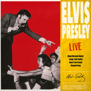 Elvis Presley - Live Red Vinyl Edition