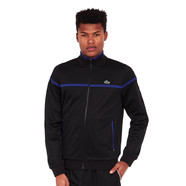 Lacoste - Run Restistant Pique Zip-Up Sweater