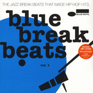 V.A. - Blue Break Beats Volume 1 Blue Vinyl Edition
