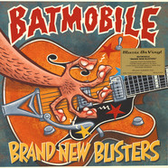 Batmobile - Brand New Blisters Yellow Vinyl Edition
