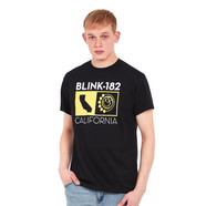 Blink 182 - California State T-Shirt
