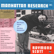 Raymond Scott - Manhattan Research Inc Colored Vinyl Edition