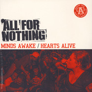 All For Nothing - Minds Awake / Hearts Alive Red Vinyl Edition