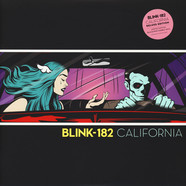 Blink 182 - California Pink-Black-MarbledVinyl Deluxe Edition