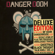 Dangerdoom (Dangermouse & MF Doom) - The Mouse & The Mask Official Metalface Version