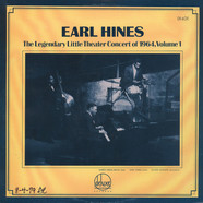 Earl Hines - The Legendary Little Theater Concert Of 1964, Volume 1
