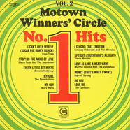 Various - Motown Winners' Circle No. 1 Hits Vol. 2
