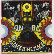 Sun Ra - OST Space Is The Place Yellow And Red Vinyl Edition