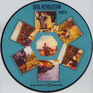 Bob Marley & The Wailers - Soul Revolution Part 2 Picture Disc Edition