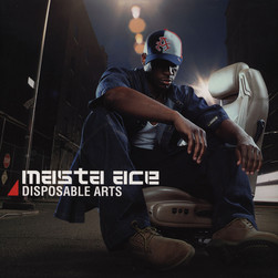 Masta Ace - Disposable Arts Blue Vinyl Edition