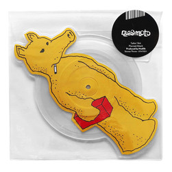 Quasimoto - Talkin Shit - Die Cut Picture Disc Yellow Quas Version