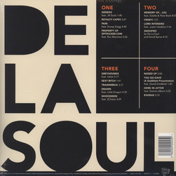 De La Soul - And The Anonymous Nobody Black Vinyl Version