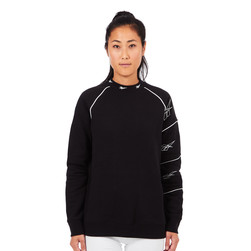 Reebok - SMU W Vector High Neck Crewneck Sweater
