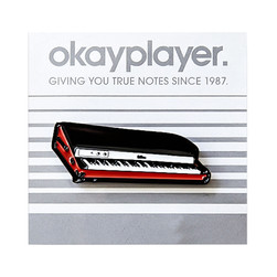 Okayplayer - Keyboard Enamel Pin