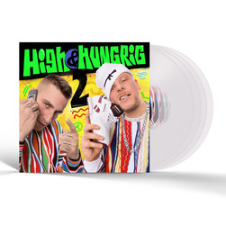 Gzuz & Bonez MC - High & Hungrig 2 hhv.de Exclusive Clear Vinyl Edition