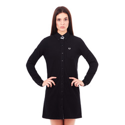 Fred Perry - Pique Boyfriend Fit Shirt Dress