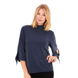 Just Female - Cosmo Tie Blouse